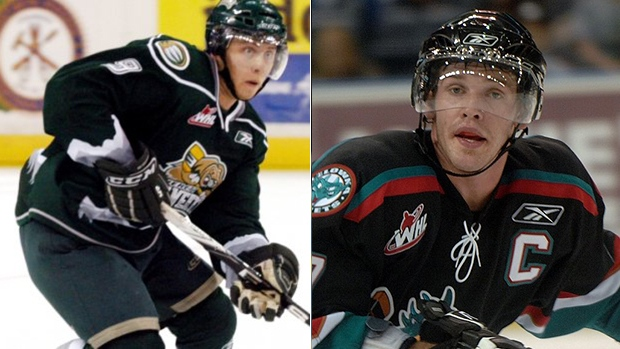 Tyler Maxwell and James McEwan , WHL/Getty Images